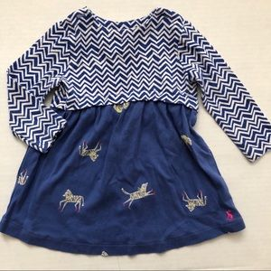 Joules Zebra Dress